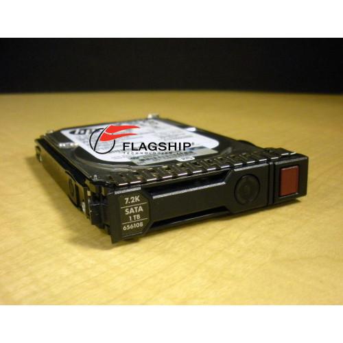 "HP 655710-B21 656108-001 1TB 6G SATA 7.2K SFF 2.5"" SC MDL Hard Drive IT Hardware via Flagship Technologies, Inc, Flagship Tech, Flagship"