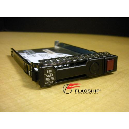 "HP 691866-B21 692166-001 400GB 6G SATA Mainstream Endurance SFF 2.5"" SC EM SSD IT Hardware via Flagship Technologies, Inc, Flagship Tech, Flagship"
