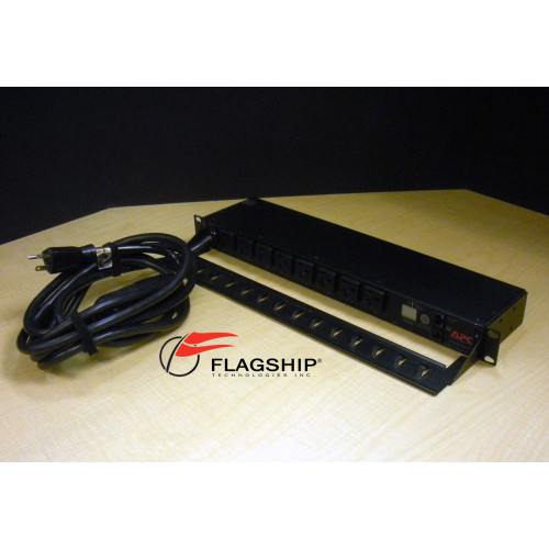 APC AP7901 Rack PDU Switched 20A 120V (L5-20P) (8) NEMA 5-20R IT Hardware via Flagship Technologies, Inc, Flagship Tech, Flagship
