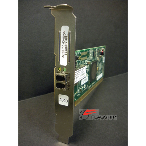 IBM 46K6838 280D 03N5014 5761-9406 PCI-X 4Gb Single Port FC Tape Controller IT Hardware via Flagship Tech