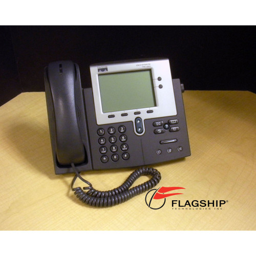 Cisco CP-7941G Unified IP Phone 7941G IT Hardware via Flagship Technologies, Inc, Flagship Tech, Flagship