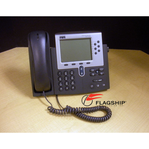 Cisco CP-7960G Unified IP Phone 7960G IT Hardware via Flagship Technologies, Inc, Flagship Tech, Flagship
