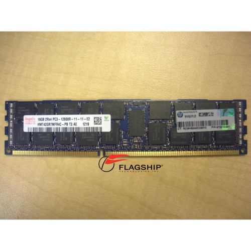 HP 672631-B21 672612-081 684031-001 16GB (1x 16GB) DDR3 PC3-12800R-11 Memory Kit