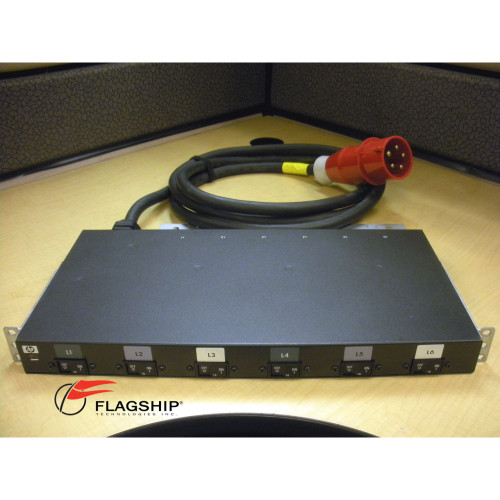 HP AF518A 481337-001 483914-001 32A 3Phase 22KVA Core Power Distribution Unit