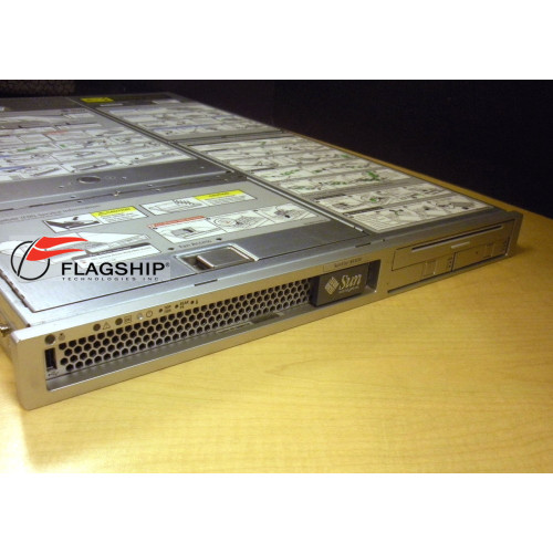 Sun X4100 A64 2X 2.8GHZ 8GB RAM 2X 73GB 10K SAS Server via Flagship Tech
