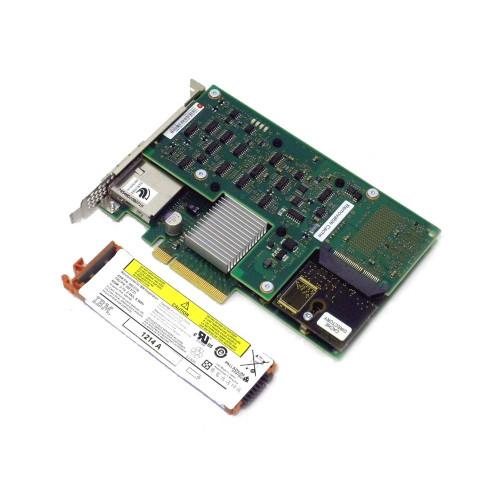 IBM 5903-82XX 5805 5903 574E PCIe Dual x4 3Gb SAS RAID 380MB Cache Battery Backed Adapter
