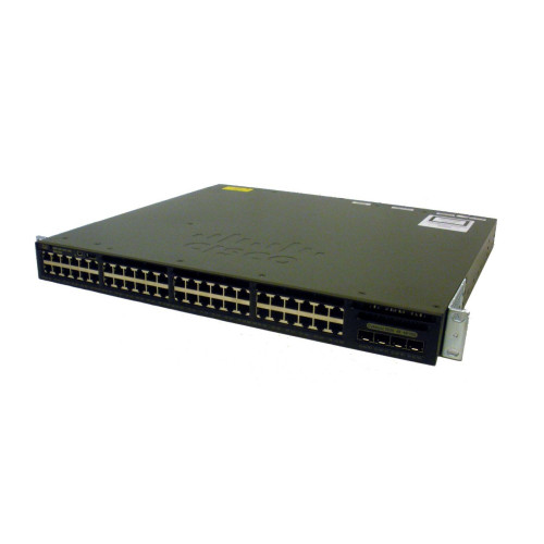 Cisco WS-C3650-48TQ-L Catalyst 3650 Series 48-Port Gigabit LAN Base Switch w/ 4x10G Uplink