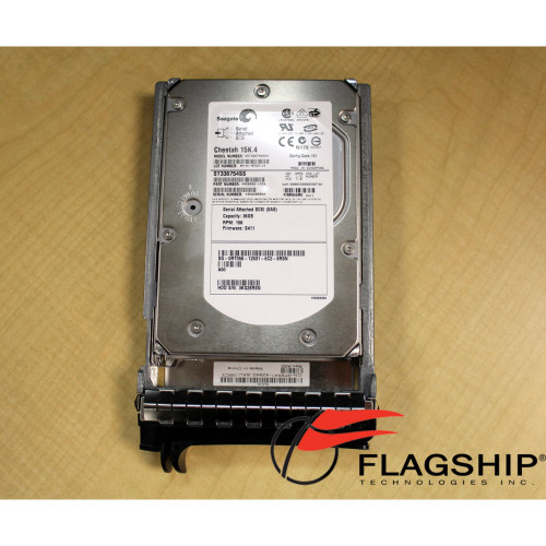 Dell RT058 36GB 15K RPM 3.5in Hot Swap SAS 3Gbps Hard Drive via Flagship Tech