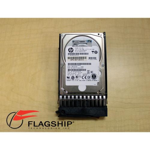 """HP 581286-B21 581311-001 600GB 6G SAS 10K DP SFF 2.5"""" Enterprise Hard Drive"""