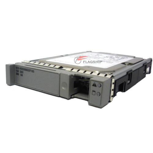 "Cisco UCS-HDD300GI2F105 UCS 300gb 15k 2.5"" SAS HDD via Flagship Tech"