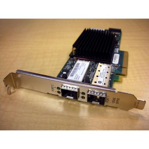 HP 581201-B21 581199-001 NC550SFP 2-Port 10Gb Ethernet Adapter PCIe via Flagship Tech