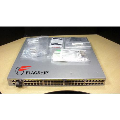 Cisco WS-C4948E 48 Port 10/100/1000 (RJ45) +4x 10GbE (SFP+) w/ Dual DC Power