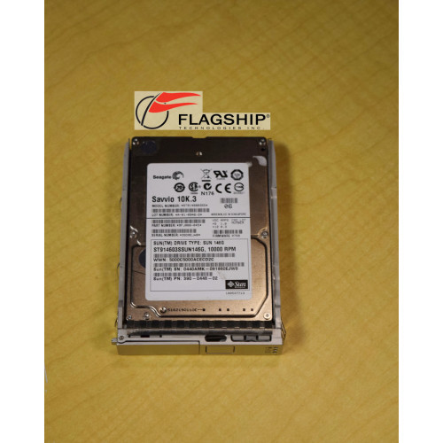 SUN 390-0448 146GB 10K SAS 2.5in Hard Drive Disk