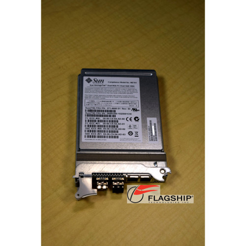 Sun 371-4666 Dual 8Gb FC & Dual Gigabit Ethernet HBA SG-XPCIEFCGBE-E8
