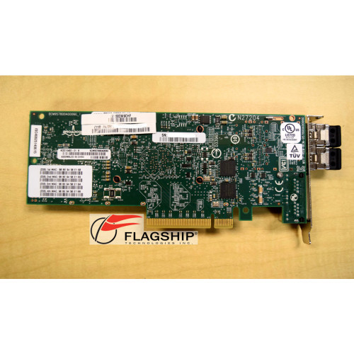 IBM EN0T-8XXX 00E2719 2CC3 PCIe2 LP 4-Port (10Gb + 1GbE) SR+RJ45 Adapter