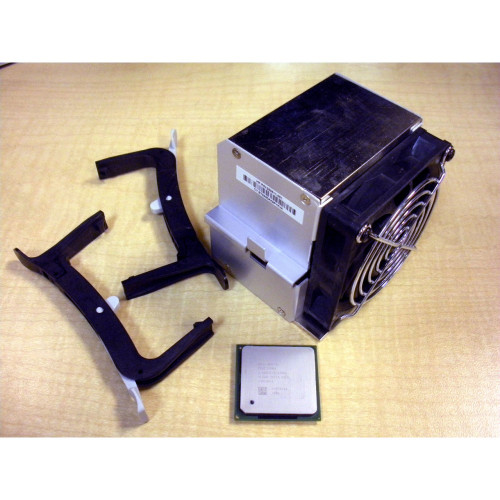 HP 333863-001 Intel Pent 4 2.60GHz/512K CPU & 350511-001 Heatsink/Fan for xw4100 via Flagship Tech