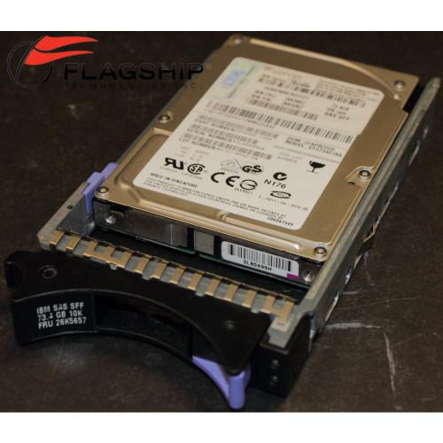 IBM 26K5657 40K1052 73GB 10K 3G SAS SFF Hard Drive