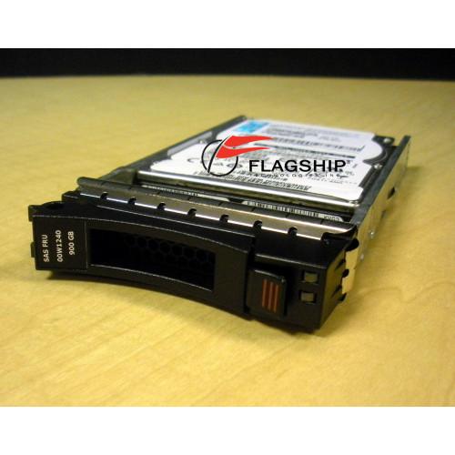IBM 00W1240 900GB 10K 6G 2.5 SAS HDD Hard Drive via Flagship Tech