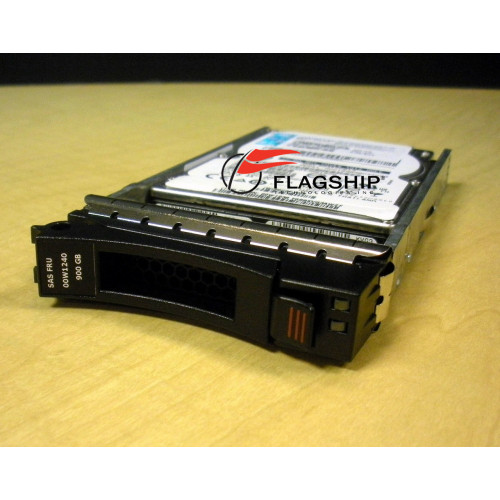 IBM 00W1240 900GB 10K 6G 2.5 SAS HDD Hard Drive via Flagship Tech