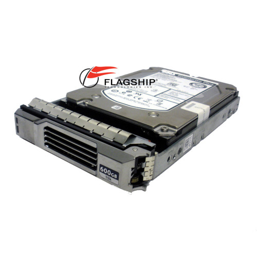 "Dell 51VF5 600GB 15K RPM SAS 3.5"" Hard Drive via Flagship Tech"