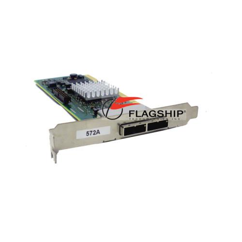 IBM 44V8579 SAS 3Gb 2-Port PCI-X 2.0 Dual Channel Raid Adapter via Flagship Tech 44V4414