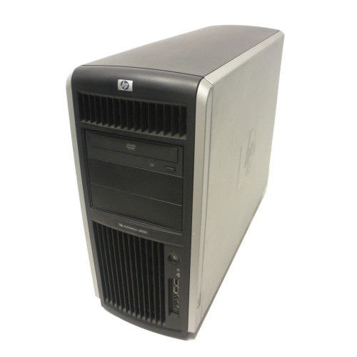 HP AB629A c8000 Workstation 1GHz DC PA8900 CPU 4GB 73GB 10K ATI DVD Pedestal