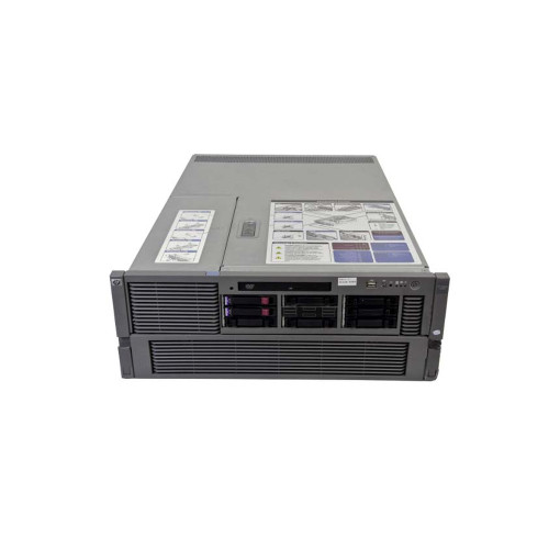 HP AB463A Integrity rx3600 Server 4-Way 1.6GHz 9140M 24GB 2x 146GB RPS Rack Kit