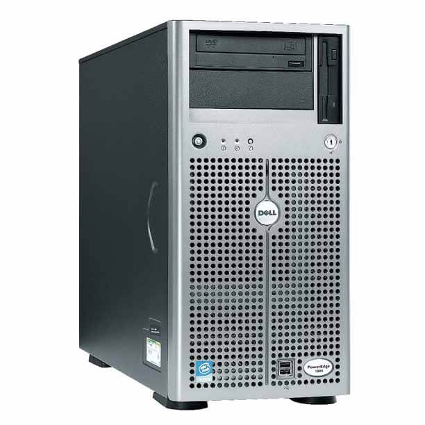 The Dell PowerEdge 1800 Servers are a 64-bit entry-level server that comes in either a tower or rackmount configuration. The PowerEdge 1800 is designed for budget-friendly performance and is an excellent choice for businesses looking for features, expandability and affordability on a limited budget.