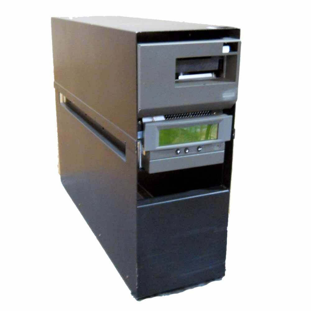 The IBM TotalStorage Enterprise Tape Drive 3590 Model E1A comes without the ibm-3590-e1a-4.jpgACF and is designed to go into the IBM TotalStorage Enterprise Automated Tape Library 3494
