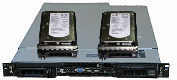 Dell PowerEdge 1850 Hard Drives