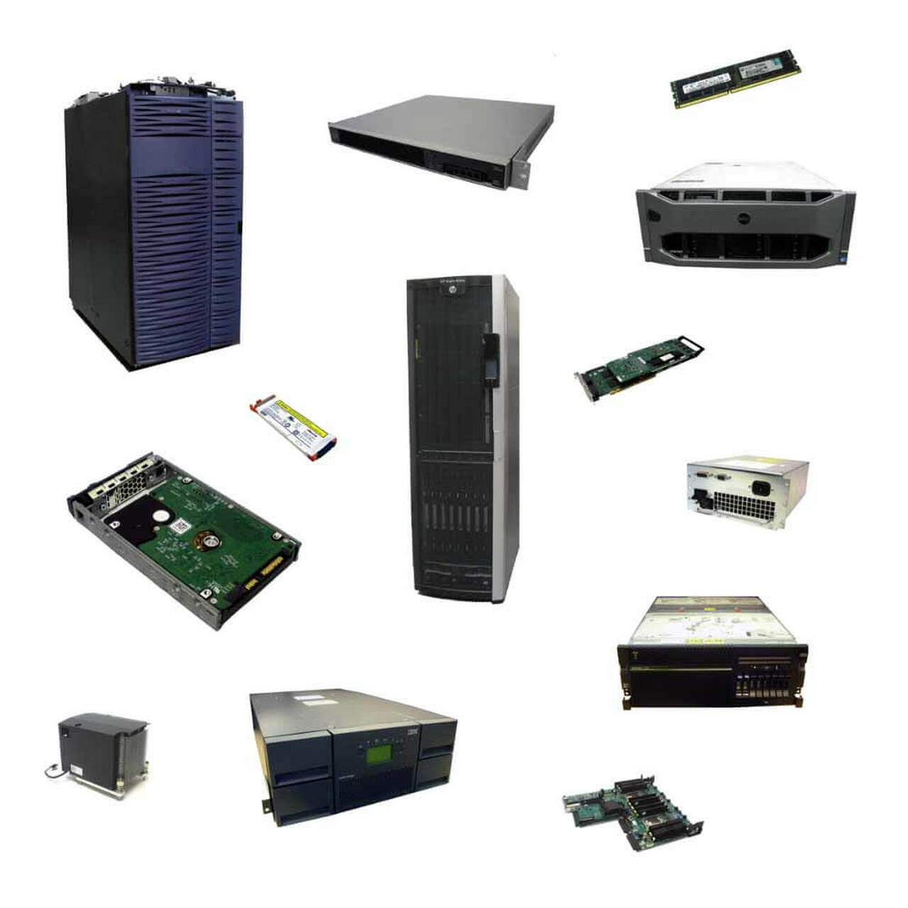 Buy & save on refurbished server spare parts from your trusted partners at Flagship Technologies.