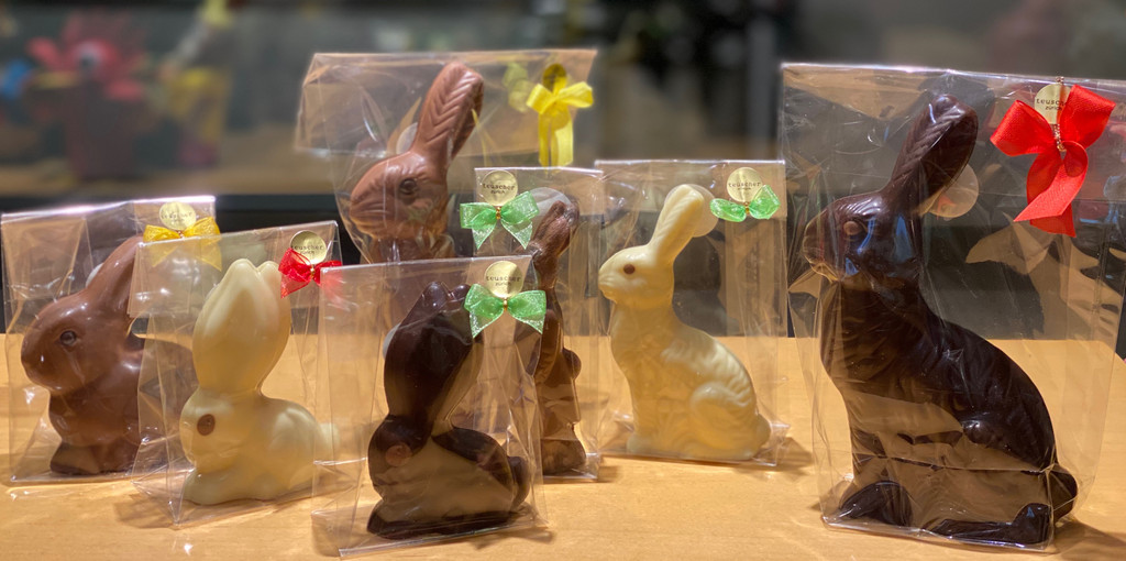 Traditional Hollow Bunnies - various sizes