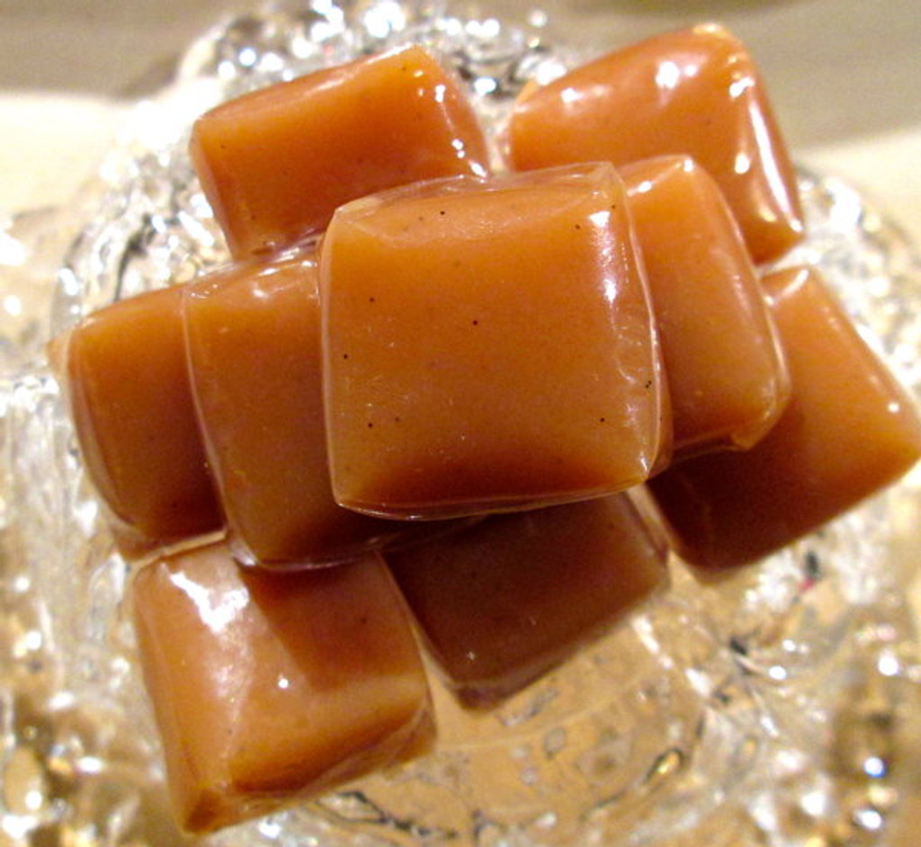 Chewy and buttery CARAMELS - 18 pcs