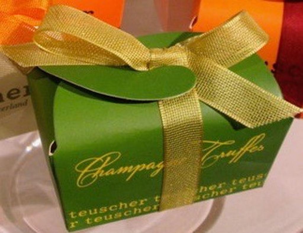 Champagne Truffles Gift Box (2 pcs)