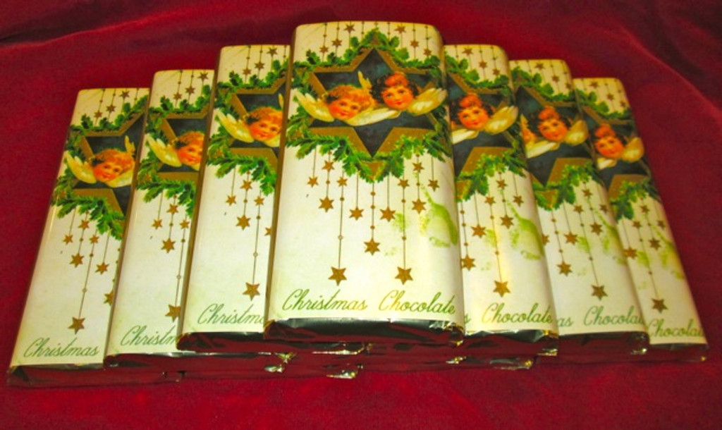 Christmas Chocolate Bar Lb 0.200