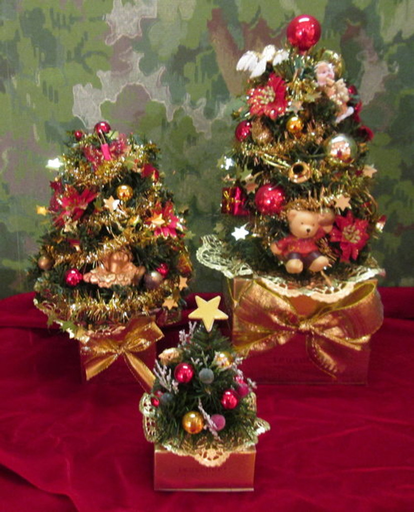 Christmas Tree Gift Box - 4, 8, 25, 32 or 48 pcs