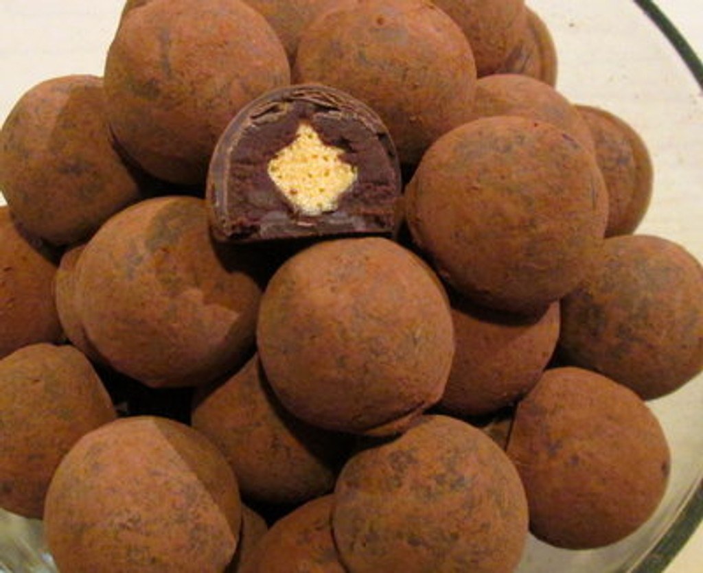 Dark Champagne Truffles 9 to 54 pieces