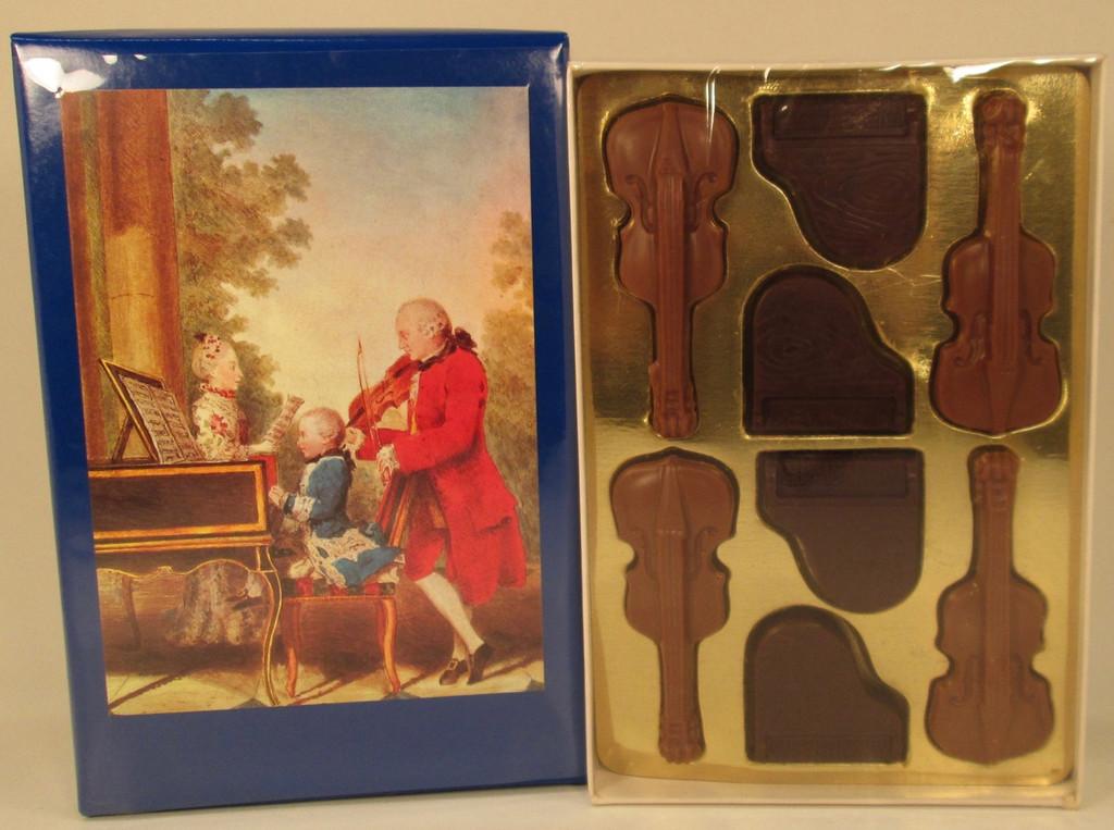 Gift Box - Violins & Pianos with a real Mozart CD! (Lb 0.350)