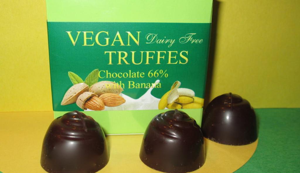 Vegan Truffles - 4 pieces box