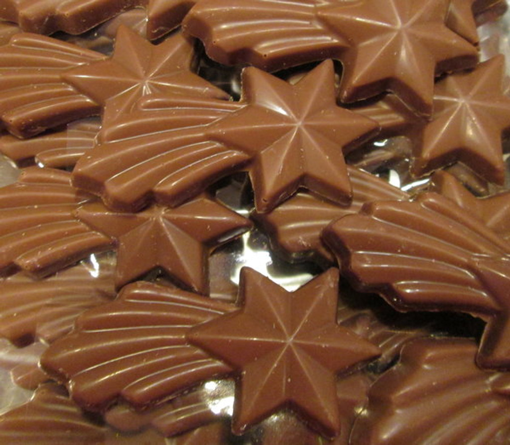 Chocolate Stars infused with Cinnamon - Lb 0.250