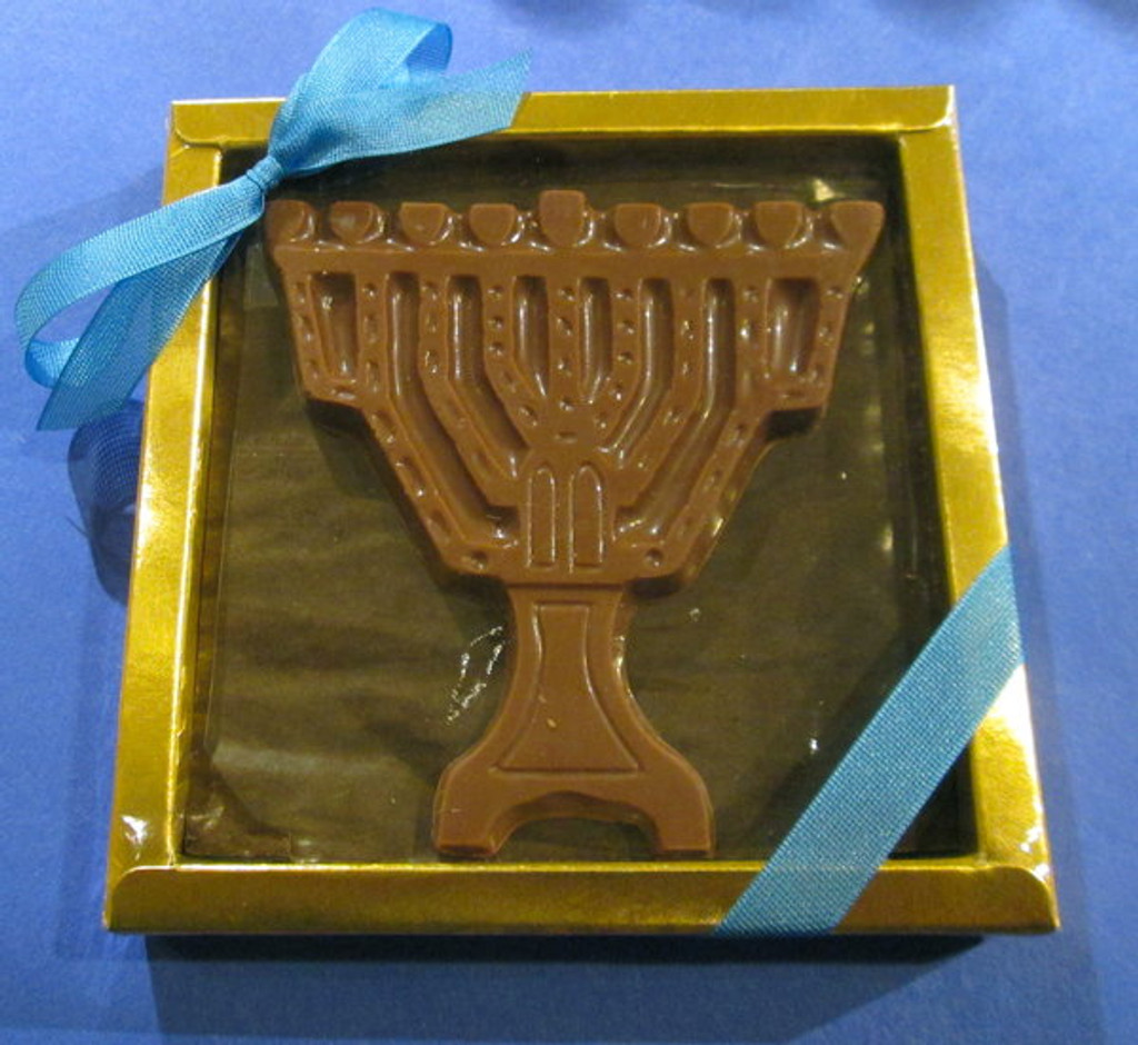 Chocolate Menorah (with Box)