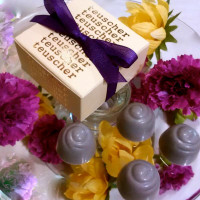 Lavender Chocolate Truffles - 4, 6 or 9 pieces