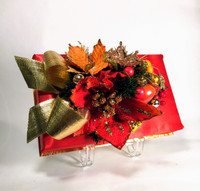 Holiday Flower Truffles Silk Box - 16, 24 or 36 pieces