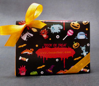 Trick or Treat Box - Solid Chocolate - Lb 0.230