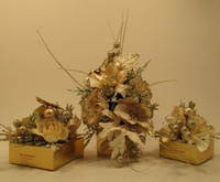 """Holiday """"Champagne Collection""""  Flower Gift Box - 1, 4, 6, 9, 16, 20, 25, 32, 48 pieces"""