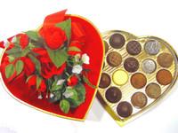 LARGE Valentines Day Chocolate Truffle Heart Box (43, 69, 86, 138 pcs)