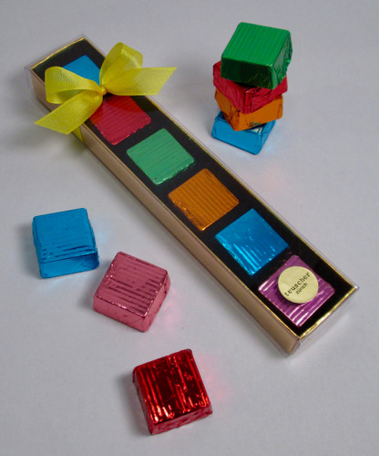 Chocolate Square Collection - 6 pieces