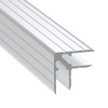 """3/8"""" 9.6mm Double Angle Corner Extrusion - 6.5 ft"""