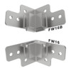 """FW16 QuickClamp™ Brace Set for 3/8"""" Panels Must use matching tongue and groove read description below"""