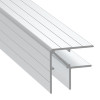 """1/2"""" 13.7mm Double Angle Corner Extrusion - 12 ft. Must be Cut Please read below"""